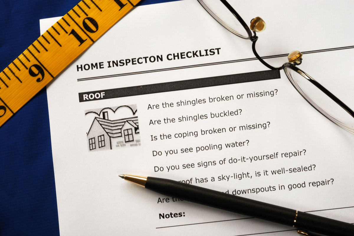 Home Inspector Checklist